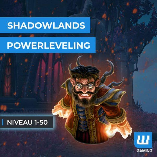 Powerleveling 1-50 WoW Shadowlands