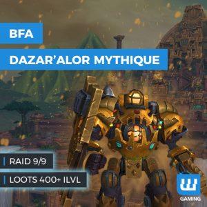 Bataille dazar'alor, boost wow battle for azeroth, boost pve raid wow, boost bataille dazar'alor normal, boost pve bataille dazar'alor wow, wow bfa pve, boost world of warcraft raid, wow patch bfa 8.1, nouveau raid wow bfa