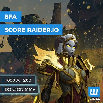boost wow raider io rank, score raider.io, score mm+, boost mythic plus wow, boost score raider io wow