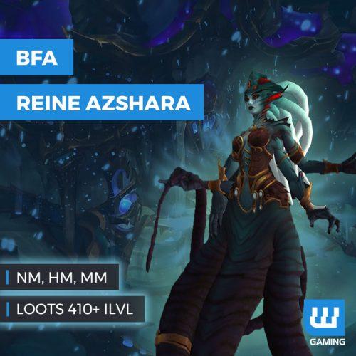 boost reine azshara palais eternel wow