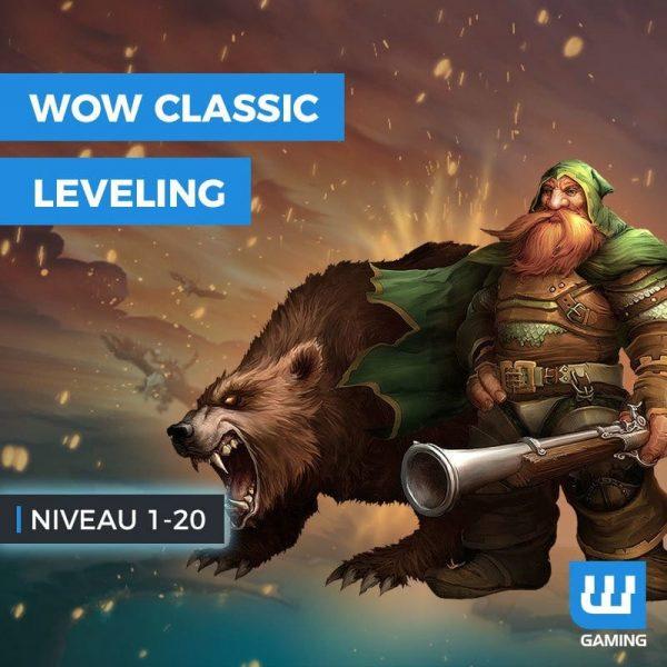 Niveau 1 à 20 WoW Classic