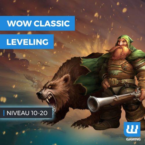Powerleveling Niveau 10 à 20 WoW Classic