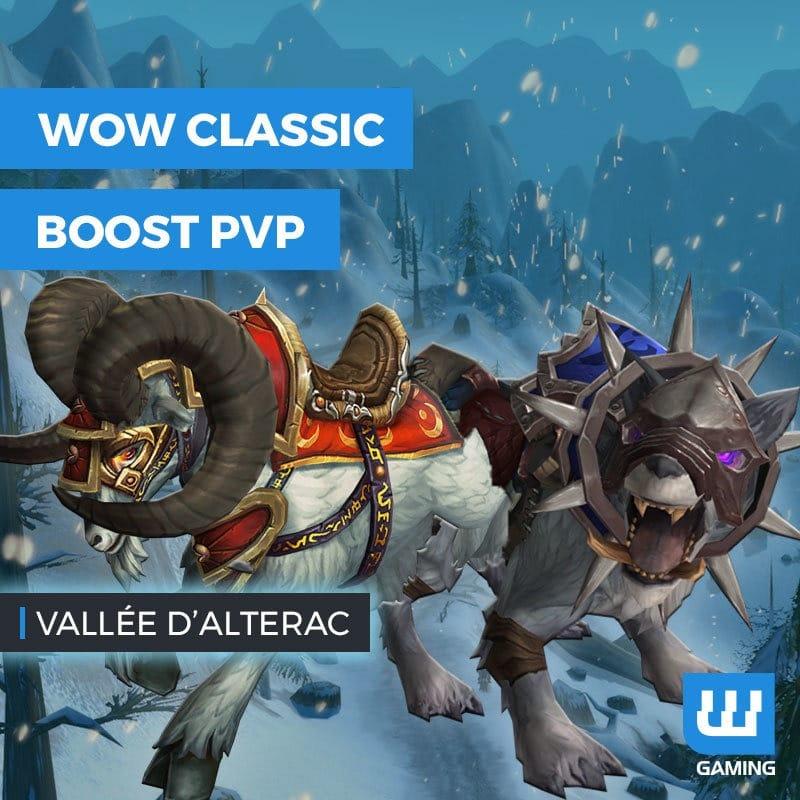 Boost Vallée d'Alterac WoW Classic
