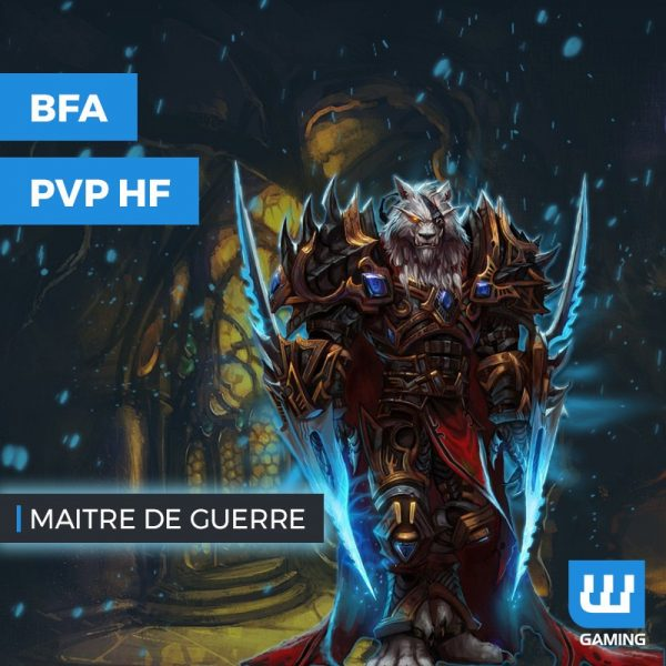Boost Maitre de Guerre WoW PvP