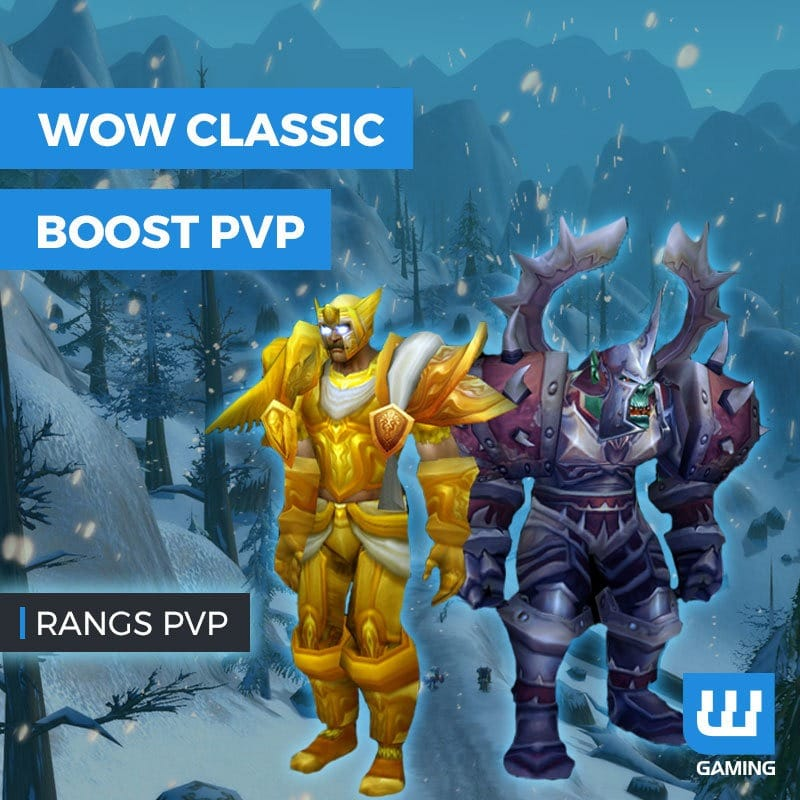 Boost Rangs PvP WoW Classic