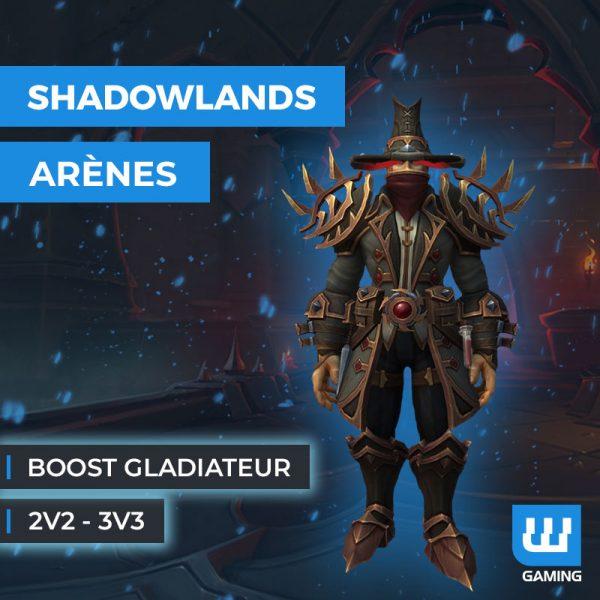 Boost Gladiateur WoW Shadowlands