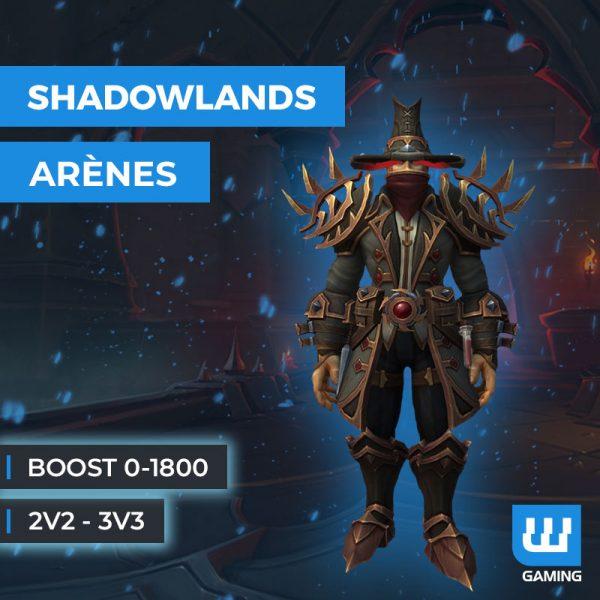 Boost Arène 0-1800 WoW Shadowlands