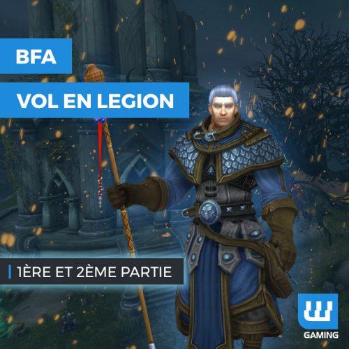 Achat Vol en Legion WoW