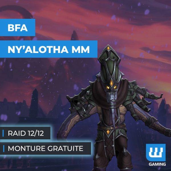 Raid Ny'alotha Mythique
