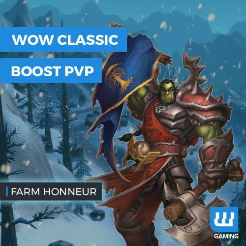 Boost Points d'honneur WoW Classic