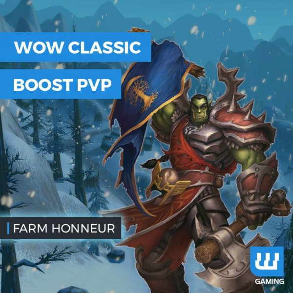 Boost Points d'honneur WoW Classic