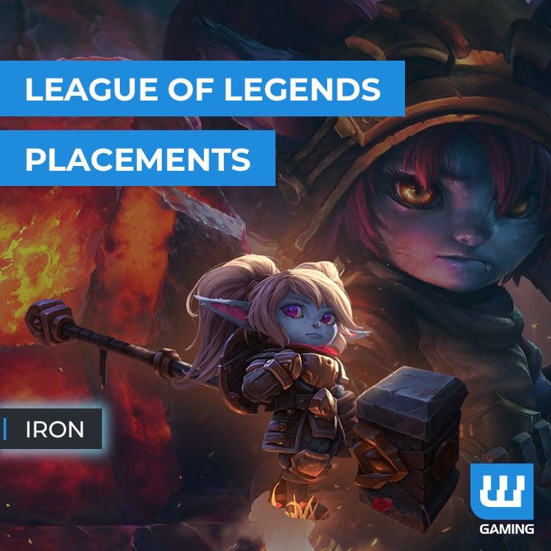 Matchs de placement Iron
