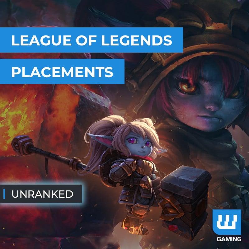 Matchs de placement Unranked