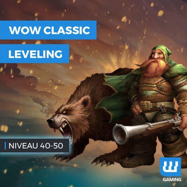 Leveling 40 à 50 Classic
