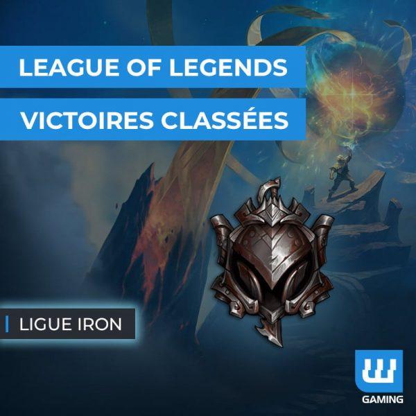 Boost Victoires Classées Iron