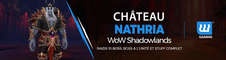 Boost Château Nathria WoW Shadowlands