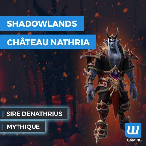 Kill Sire Denathrius Mythique