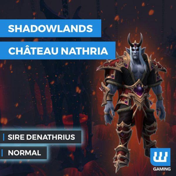 Kill Sire Denathrius Normal WoW Shadowlands