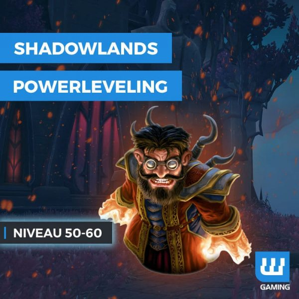 Powerleveling 50-60 WoW Shadowlands