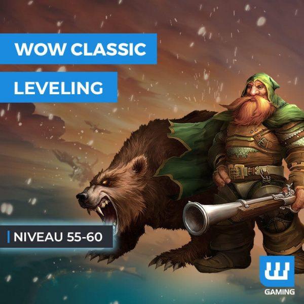 Leveling 55 à 60 Classic