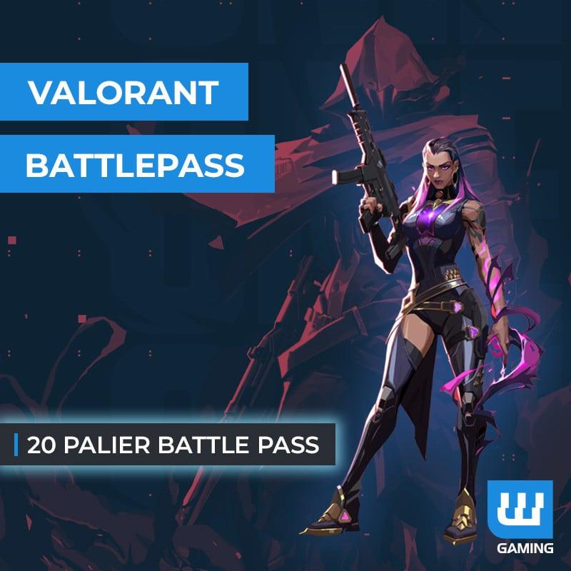 Boost 20 Paliers Battle Pass