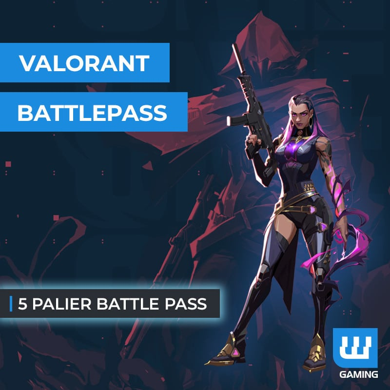 Boost 5 Paliers Battle Pass