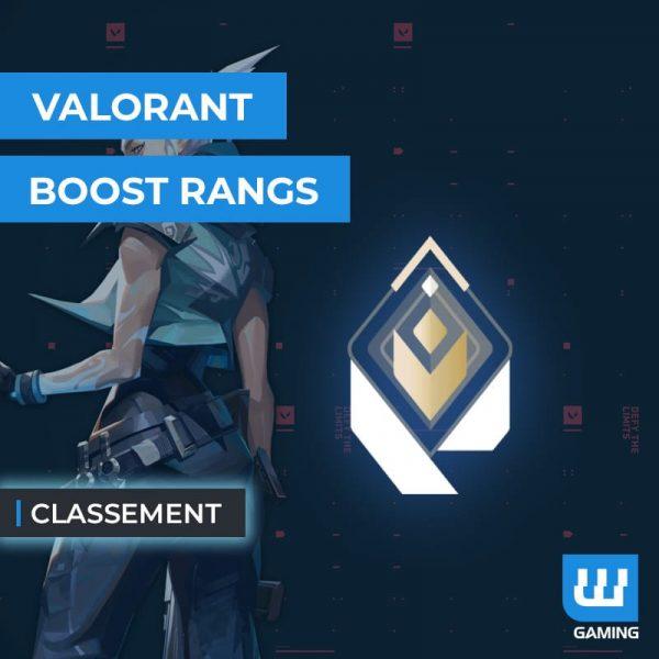 Boost Classement Valorant
