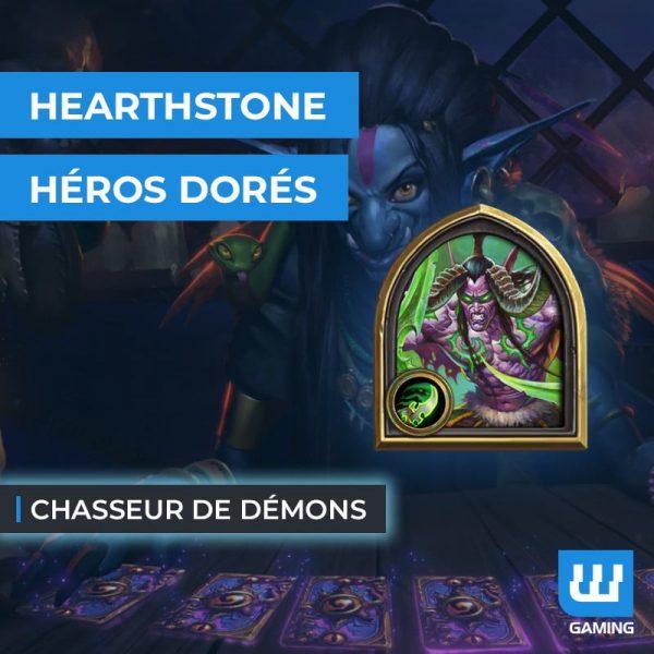 Boost Héros Doré (Chasseur de démons)