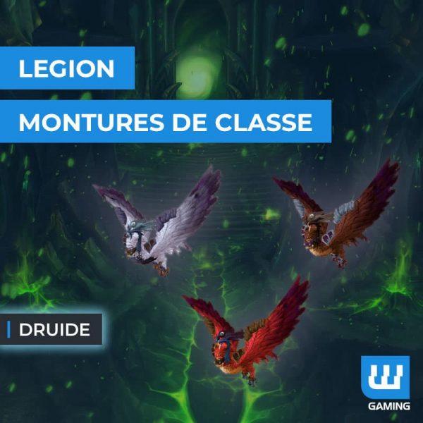 Monture de classe : Druide