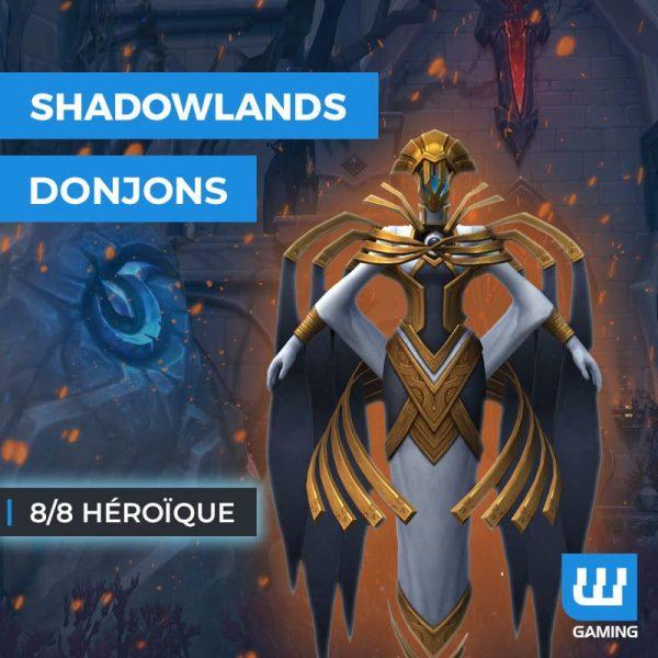Boost Donjons 8/8 Héroïque WoW Shadowlands