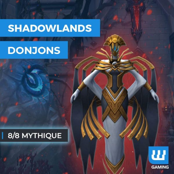 Boost Donjons 8/8 Mythique WoW Shadowlands