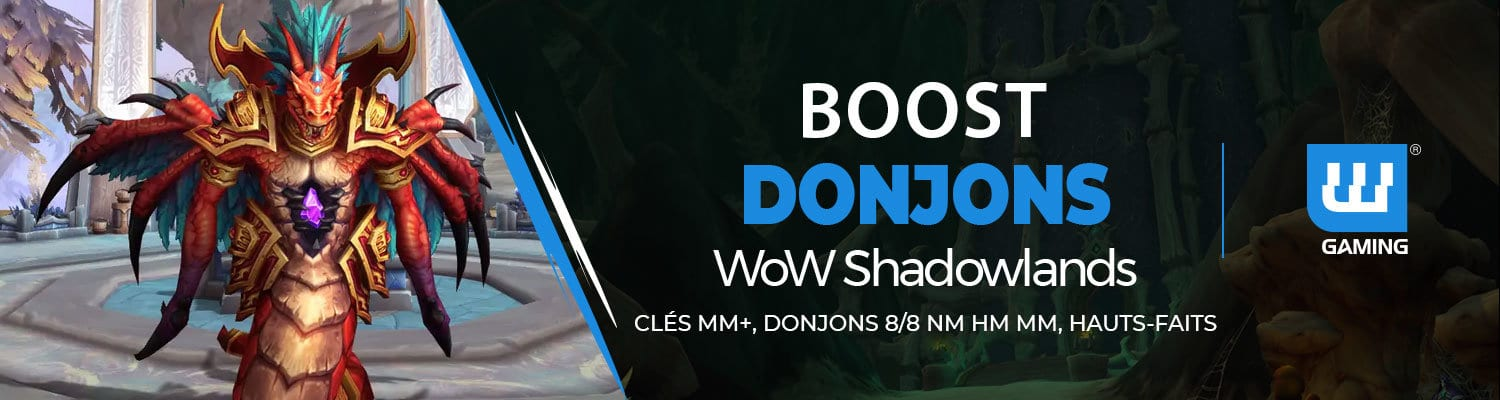 Boost Donjons WoW Shadowlands