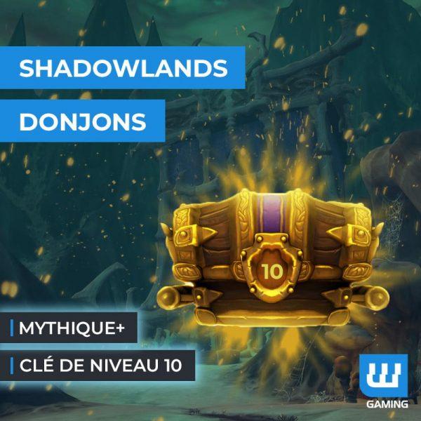 Clé Mythique +10 Shadowlands