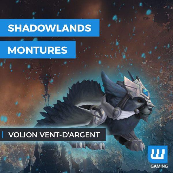 Achat Monture Volion vent d'argent WoW Shadowlands