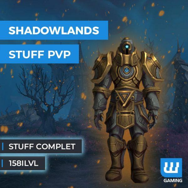 Boost Stuff PvP 158ilvl WoW Shadowlands