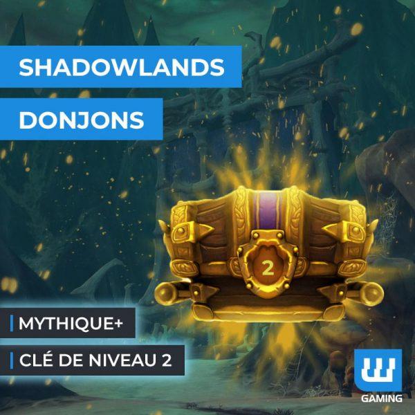Boost Clé Mythique +2 Shadowlands