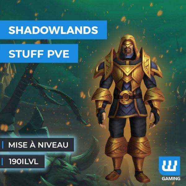 Boost Mise à niveau PvE 190ilvl WoW Shadowlands