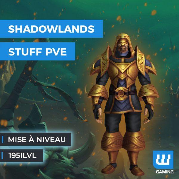 Boost Mise à niveau PvE 195ilvl WoW Shadowlands
