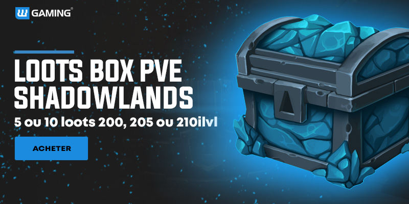 Loots PvE WoW Shadowlands